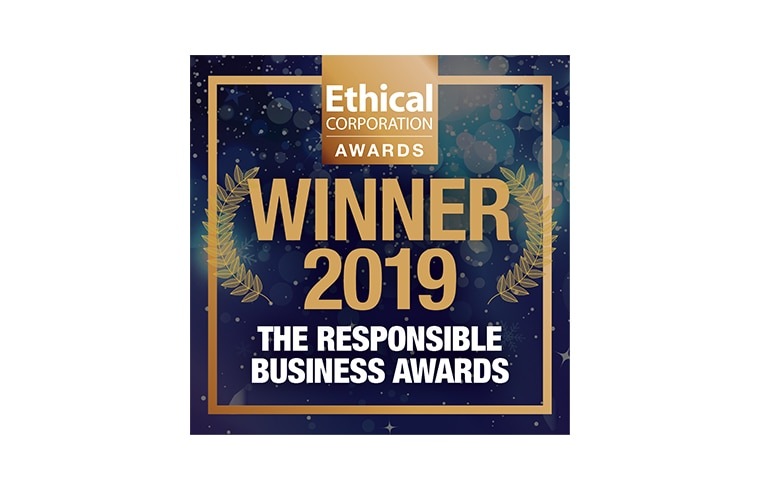 ethical corporation responsible business award
