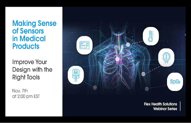 Next in Our Webinar Series: Sensors