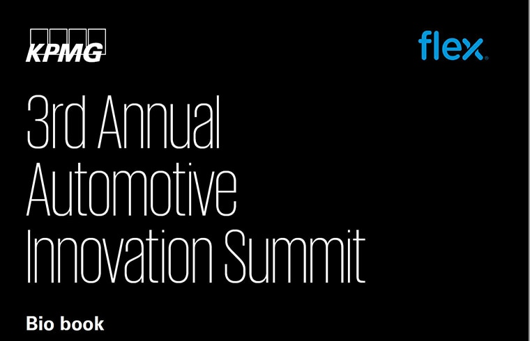 2019 Automotive Innovation Summit Biobook
