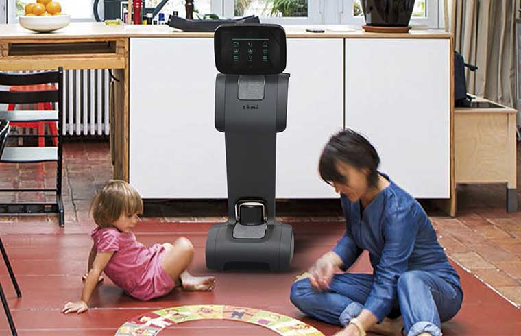 Intelligent personal robots at home